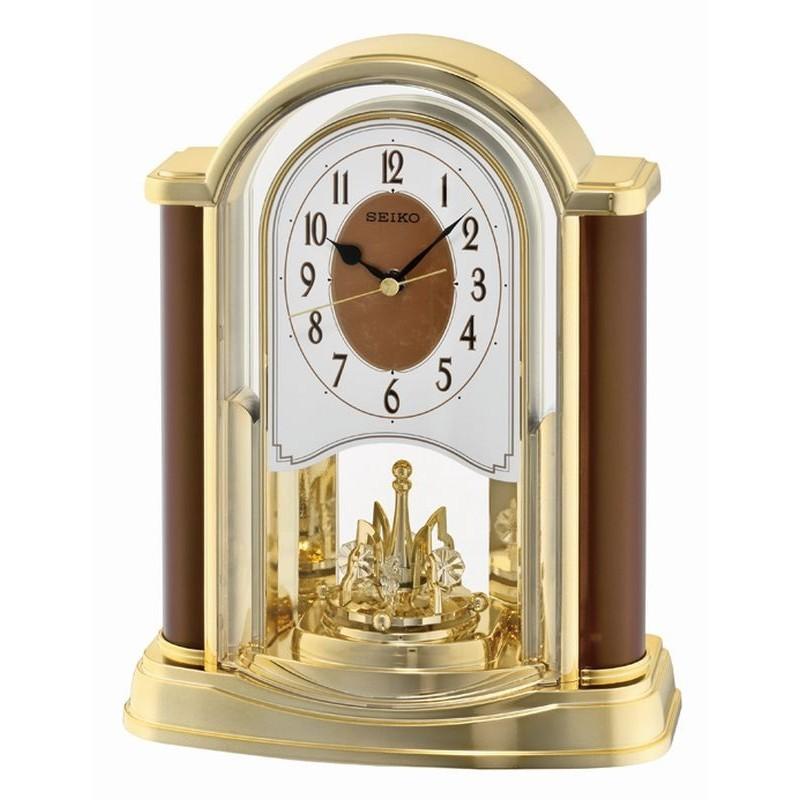 pendule balancier seiko qxn228bt poser. Black Bedroom Furniture Sets. Home Design Ideas