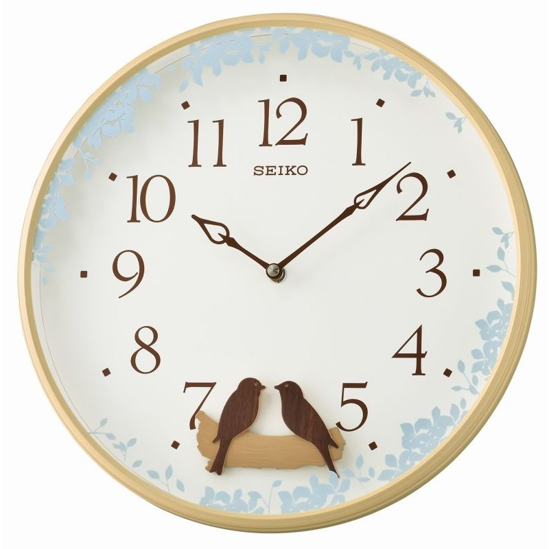 horloge murale seiko qxc237zn. Black Bedroom Furniture Sets. Home Design Ideas