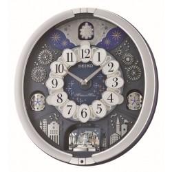 Horloge animée grise Seiko QXM379SN