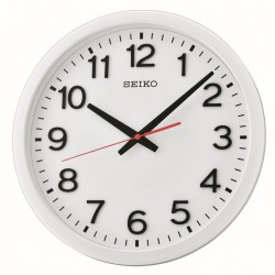 Horloge murale blanche Seiko QXA732WN