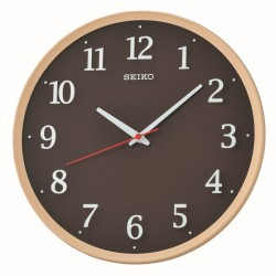 Horloge murale effet bois Seiko QXA731AN