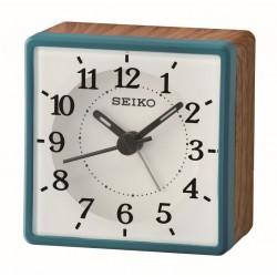 Réveil carré bois Seiko QHE175LN