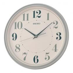 Horloge murale gris mat Seiko QXA740NN