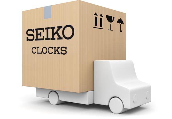 Seiko Clocks livraison gratuite